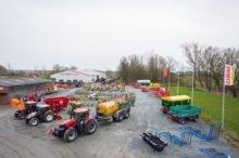 Landmaschinen Ausstellung der Rinckhoff Landtechnik GbR
